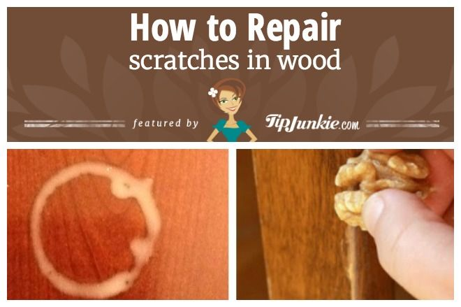 How to Repair Scratches in Wood