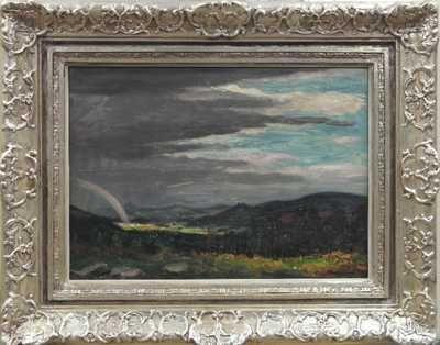 Ota Bubeníček - Po bouři nad Křížáneckými lesy