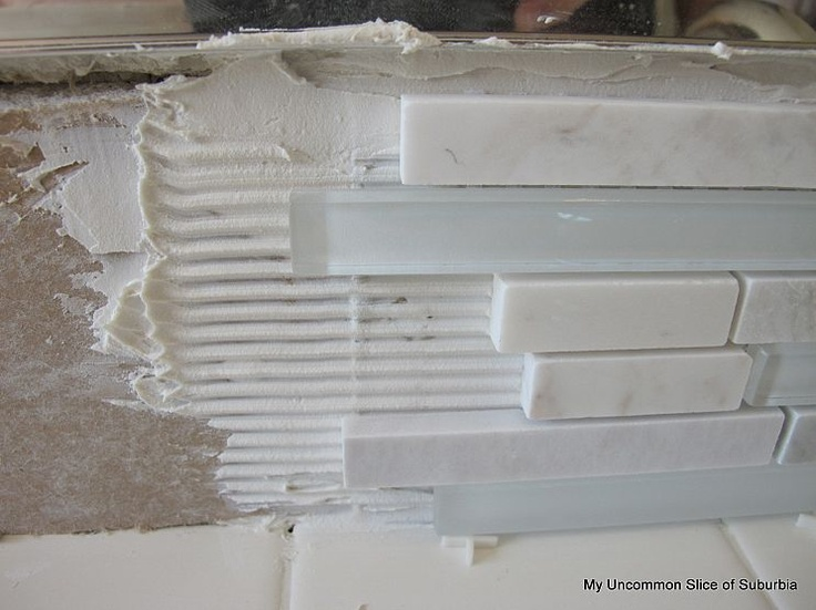 How To Install A Glass Tile Backsplash Found At Https Www