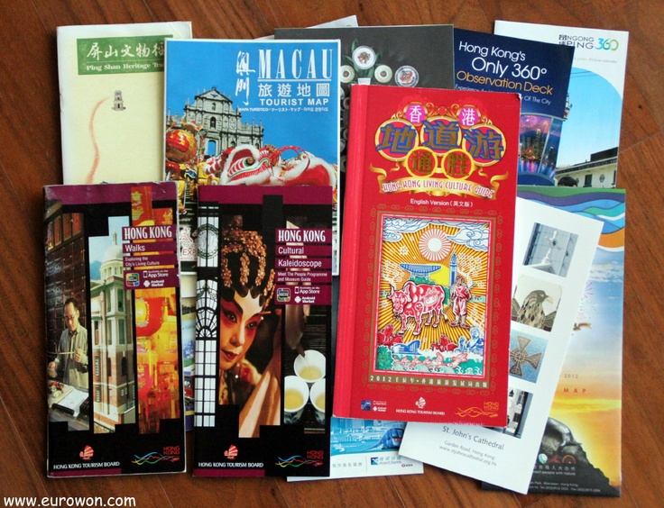 Guías turísticas de Hong Kong.