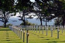 Amerikaanse militaire begraafplaats Normandië