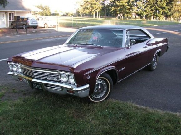 This 1966 Chevrolet Impala Super Sport Coupe (Chevy's terminology for a 2-door hardtop) is described as an always garaged, 76k-mile example that's being sold by its second owner. It has the 327 V-8 and appears to be quite clean and original. Find it here on Craigslist in Vancouver, Washington for $16,500.