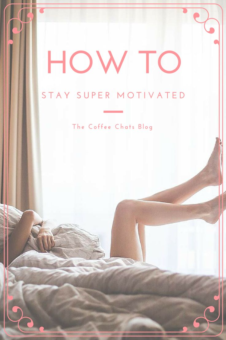 Motivation post written by Sally
