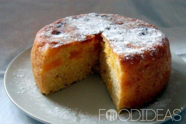 Апельсиновый пирог в мультиварке