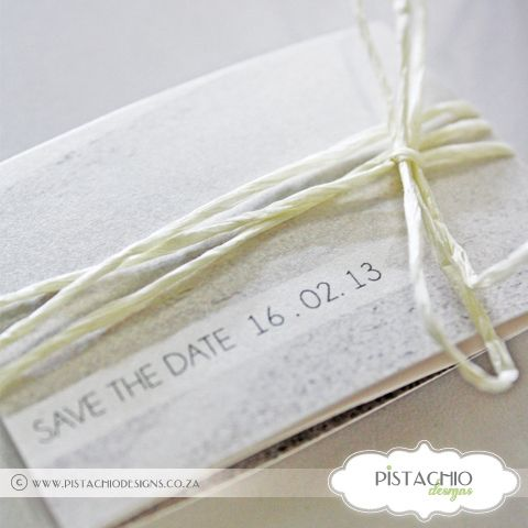 Folded Photo - Save the Date