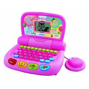 Vtech Tote and Go Laptop Pink (Toy): Laptops Pink, Vtech Totes, Pink Toys, Learning Toys, Gifts Ideas, Toys Laptops, 2010 Version, Pink Laptops, Kid