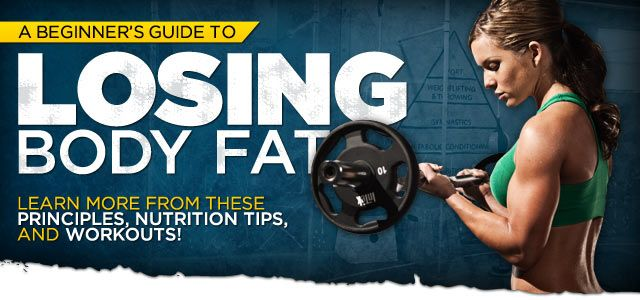 A Beginner's Guide To Losing Body Fat! There are some things I'd change food wise =)