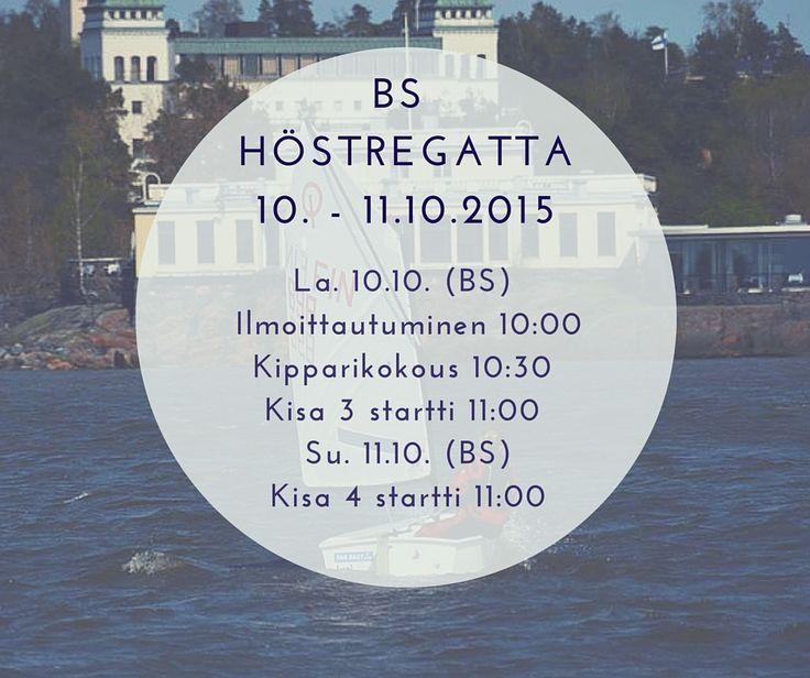 Seasons last Optimist Regatta in October at east side of Helsinki organisized by Marjaniemen Purjehtijat and Brändö Seglare
