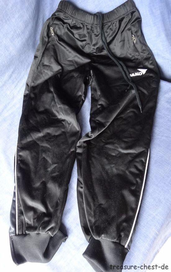 Genuine JAKO Boys Training / Sports Trousers / Pants, Black, Size 140 #Jako