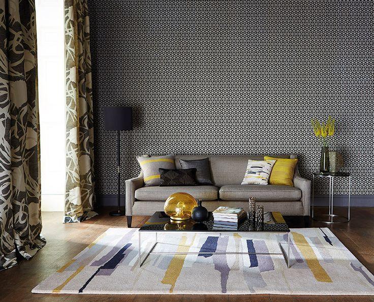 Alfombra de lana hecha a mano - Villalba Interiorismo