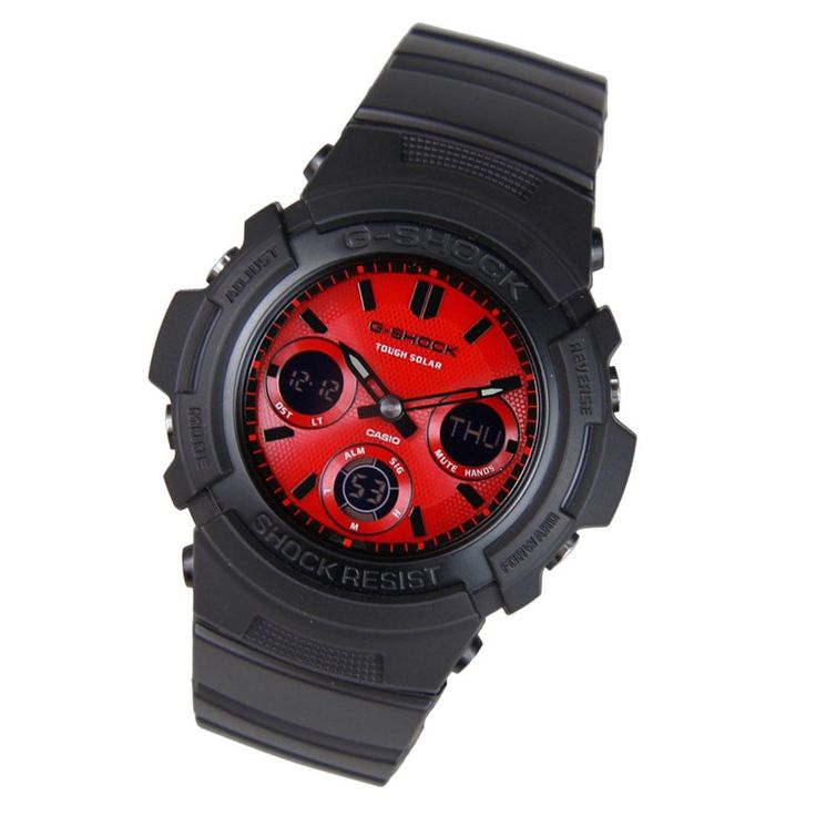 Casio G Shock Mens Solar Watch Awr M100sar 1a Awr M100sar 1 Casio G Shock Watches Casio Casio G Shock