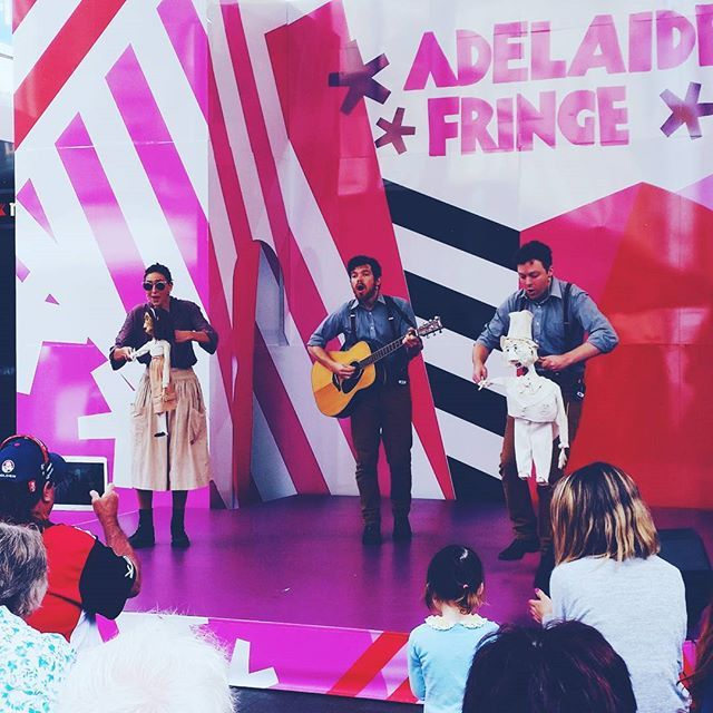 Get amongst some great Fringe action in Rundle Mall @ The UNFOLD Fringe in the Mall Stage! Every day of the Fringe! Mon-Fri 11am-7pm Sat-Sun 12pm-5pm