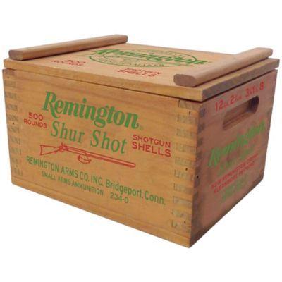 Remington Shur Shot Wood Ammo Box