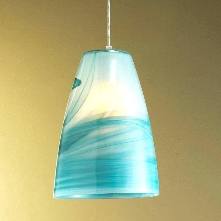 New Turquoise Gl Pendant Lights Sea