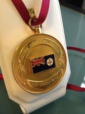 Russell Cooper Cultural Medal -- I was awarded this for being the most 'cultural person' in my school. Yet, the state I was schooled in - Queensland - recently axed its Premier's Literary Awards.