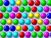 Free Online Puzzle Games, Its the classic bubble shooter game!  You'll be given a bubble of one color and you must shoot it to create a set of 3!  Bounce your bubble shot off the walls or just aim directly at the other bubbles to form a match of 3!, #bubble shooter #bubble