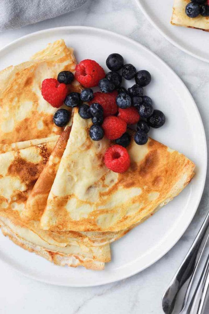 Best Crepe Recipe Recipe Best Crepe Recipe Crepe Recipes Breakfast Recipes Sweet