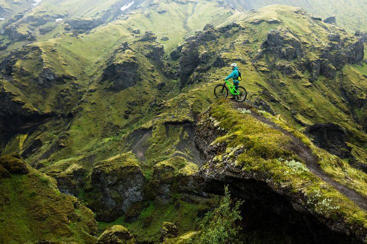 Yeti Cycles x Iceland images.