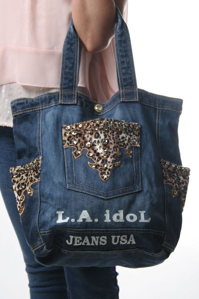 Perfect Book Bag! Leopard L.A. Idol bag
