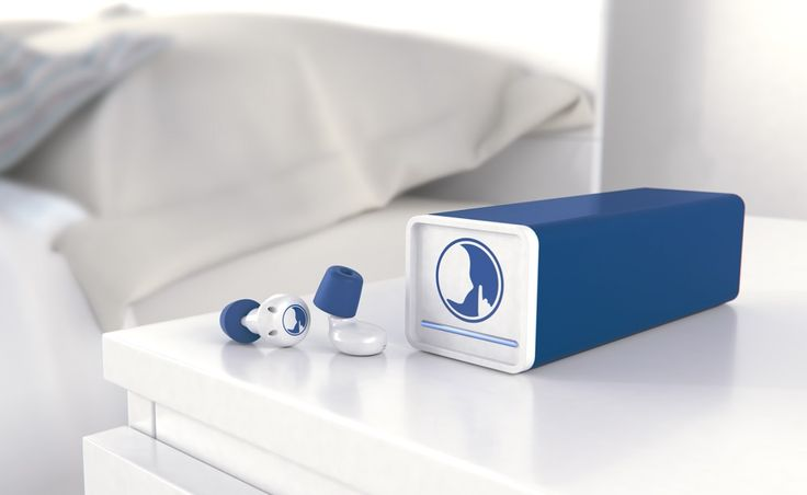 Hush earplugs can block out unwanted noises like snoring, but let through noises like alarms.