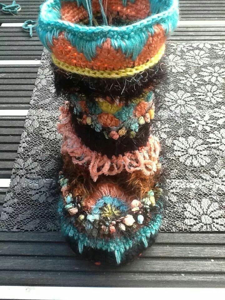 Enchanting Crochet Mukluk Pattern Elaboration Knitting Pattern