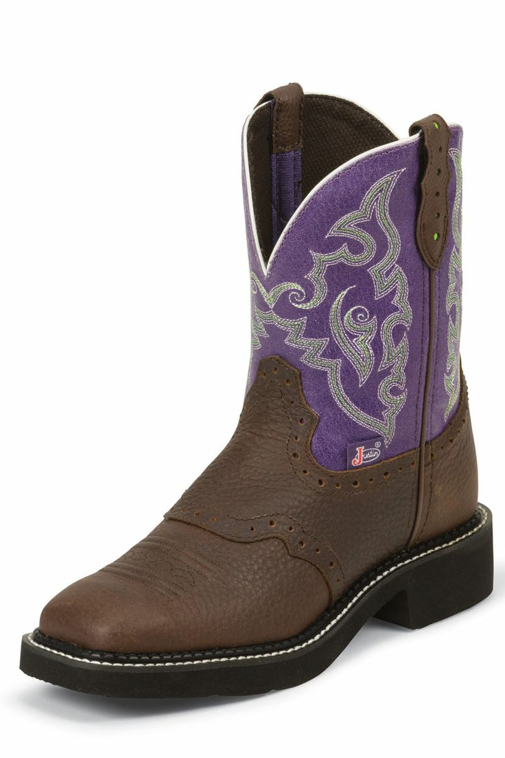 Justin Gypsy Women's Purple Cowgirl Boots - on sale!