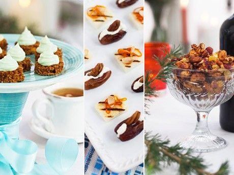Med enkla medel kan man göra fantastiskt goda tilltugg. Här är fem recept från systrarna Eisenman.