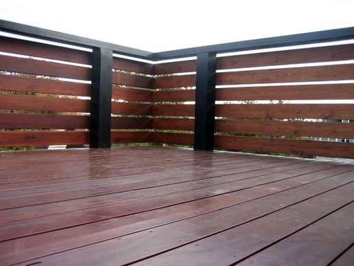 Lattice Deck Railing Ideas | Westmoreland Roof Deck - Decking