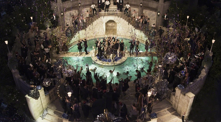 Nobody throws a party quite like Gatsby. #TheGreatGatsby