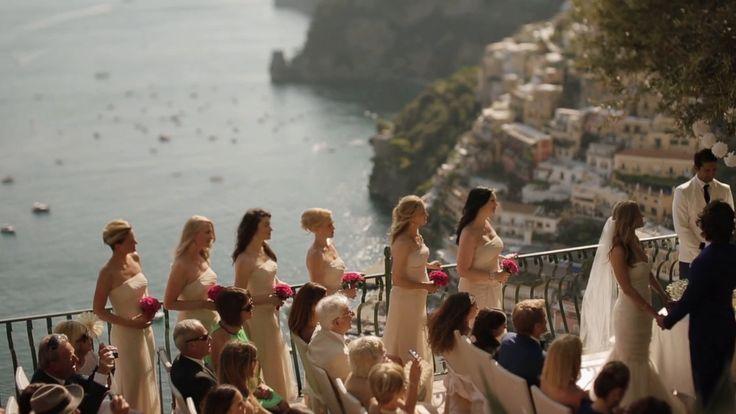 Wedding video in Positano (Amalfi Coast) / Charlie & Rudy