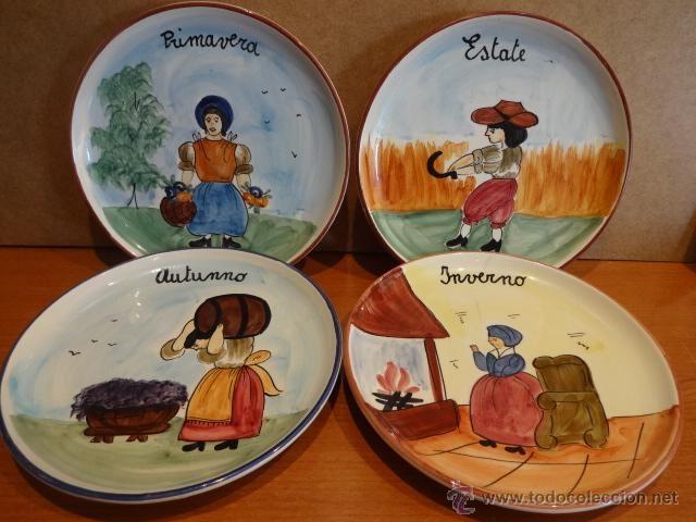 17 mejores im genes sobre platos de colecci n en - Platos de ceramica ...