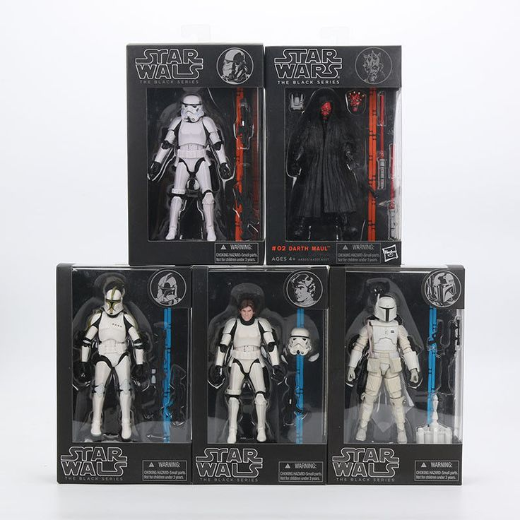 """Star Wars Action Figure 6"""" PVC Darth Vader Maul Kylo Stormtroops Collection Toys"""
