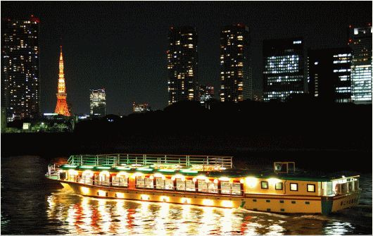 Funasei Yakatabune Cruise - a unique viewpoint of Tokyo & all-around good time