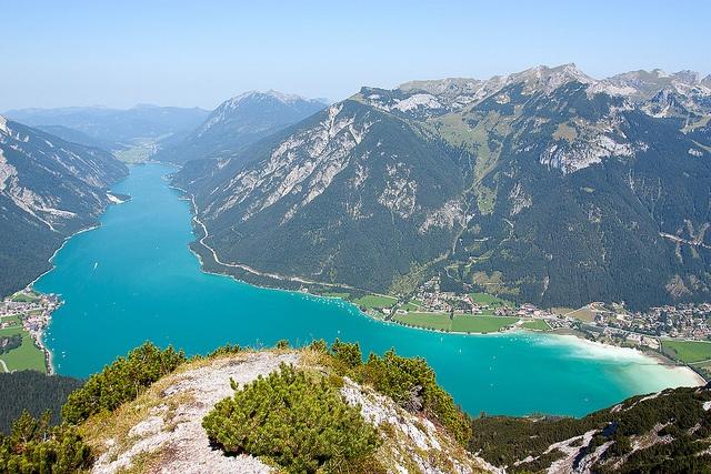 Achensee vom Bärenkopf, Austria