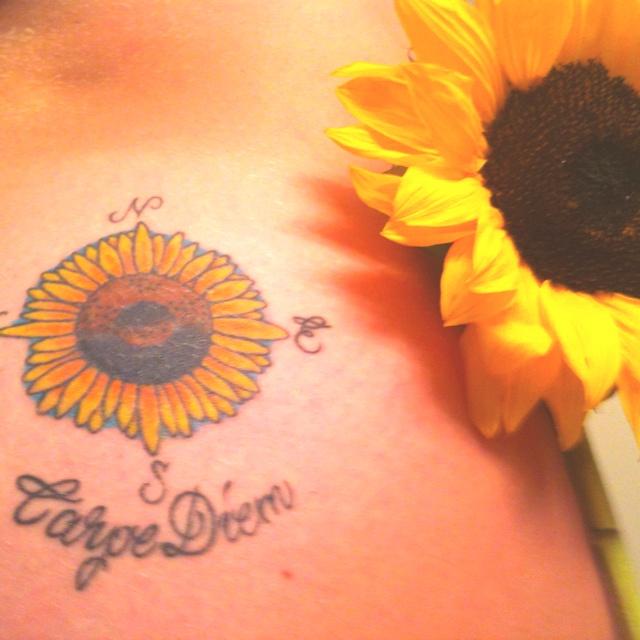 Carpe diem. Okay let's travel the world. #tattoo