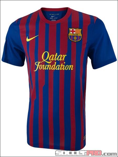 Nike Barcelona Home Jersey 2011-2012...$71.99