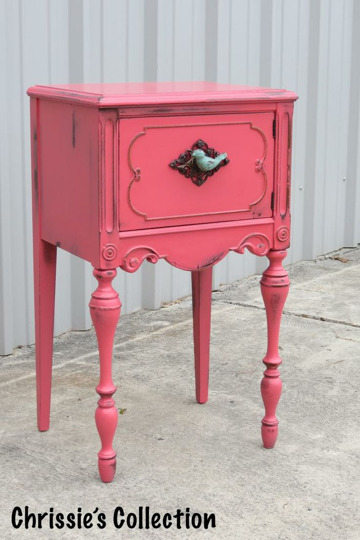 General Finishes Coral Crush, painted furniture by Chrissie's Collection