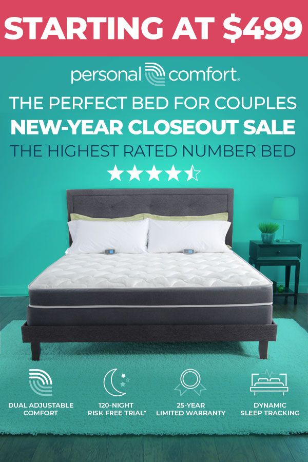 You Can Afford A Number Bed Starting At 499 The Perfect Bed For Couples Compare To Sleep Number And Save Up To 60 New Y Bed Sleep Number Bed Bed Price
