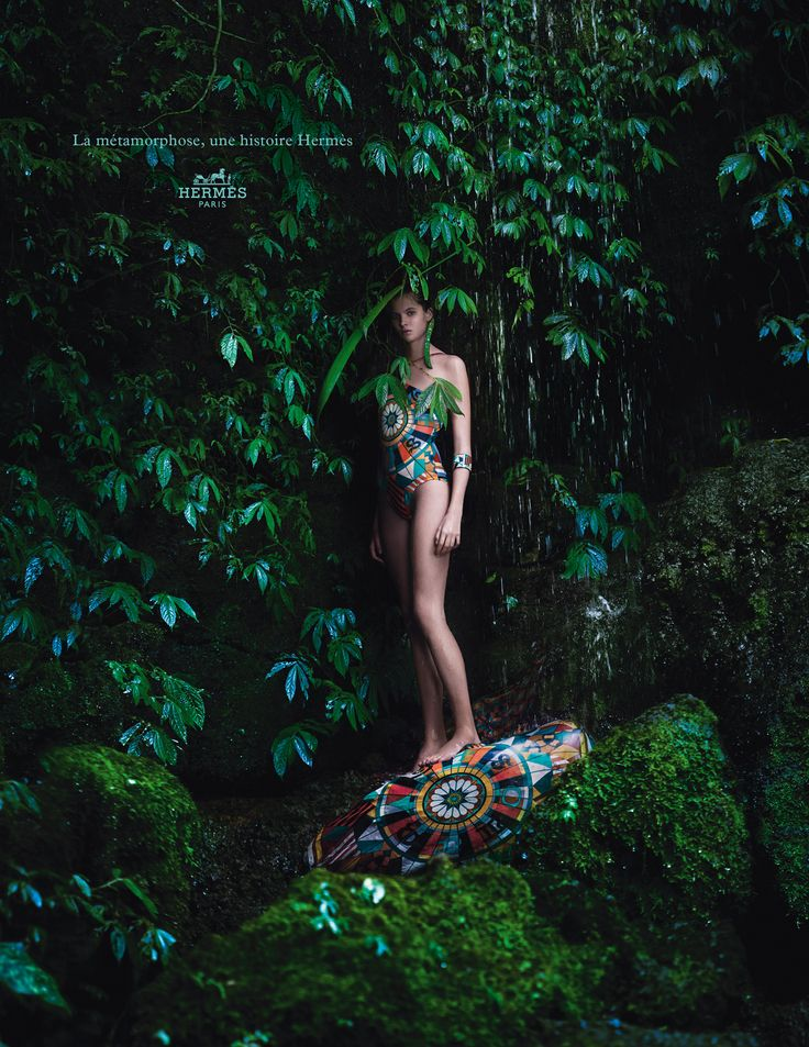 Hermes 2014, metamorphoses campaign - maillot