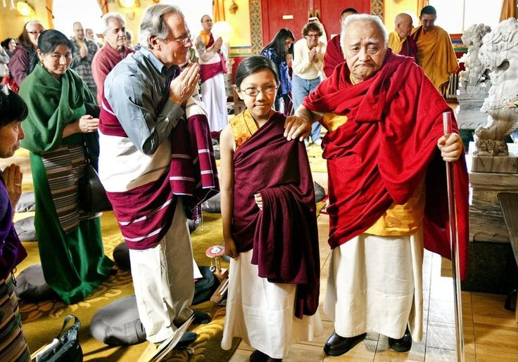 Revered 13-year-old Buddhist leader