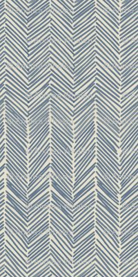 domesitcate on spoonflower freeform arrows in navy
