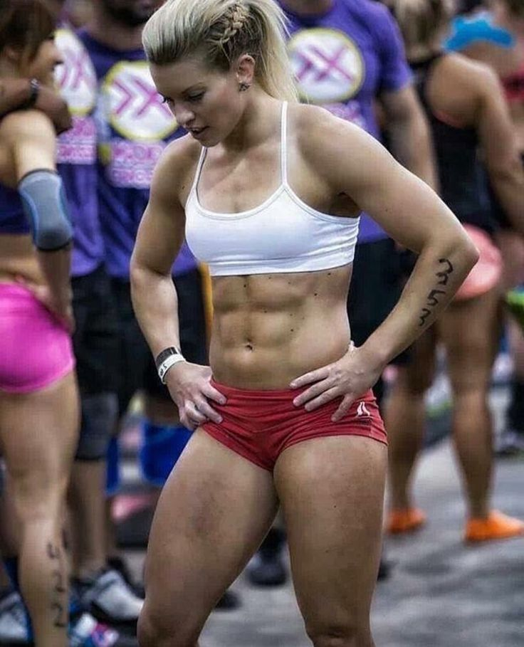 Psych of female bodybuilder fetish