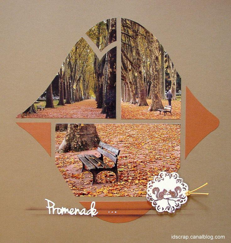 modele scrapbooking automne