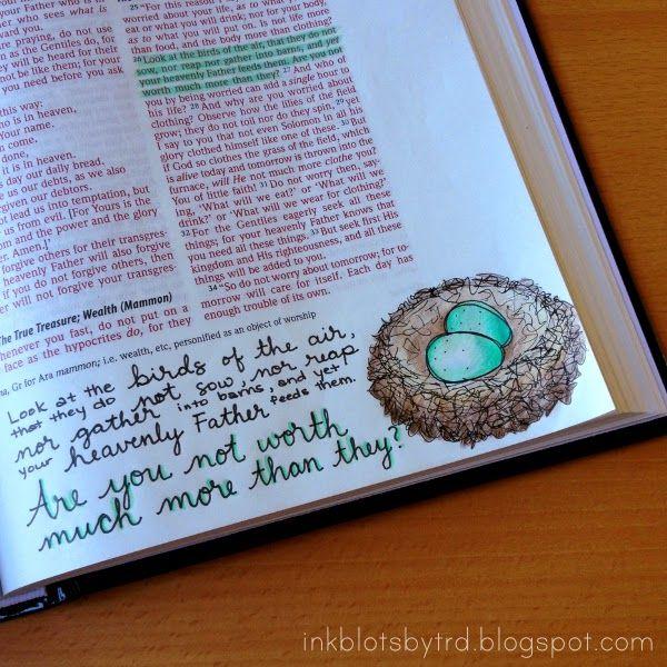 Ink Blots by TRD: Adventures in Bible art & journaling :: Week 4