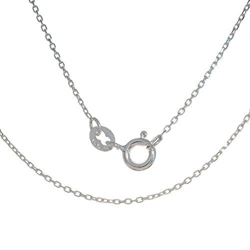 Feine Rolokette 38-45cm 1mm Stärke 925 Sterling Silber Silberkette necklace https://www.amazon.de/dp/B01N21OTAU
