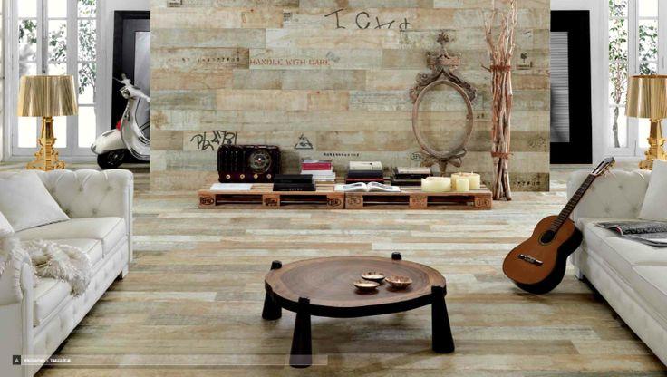foresta-timber-02 - 'aged' wood effect porcelain tiles