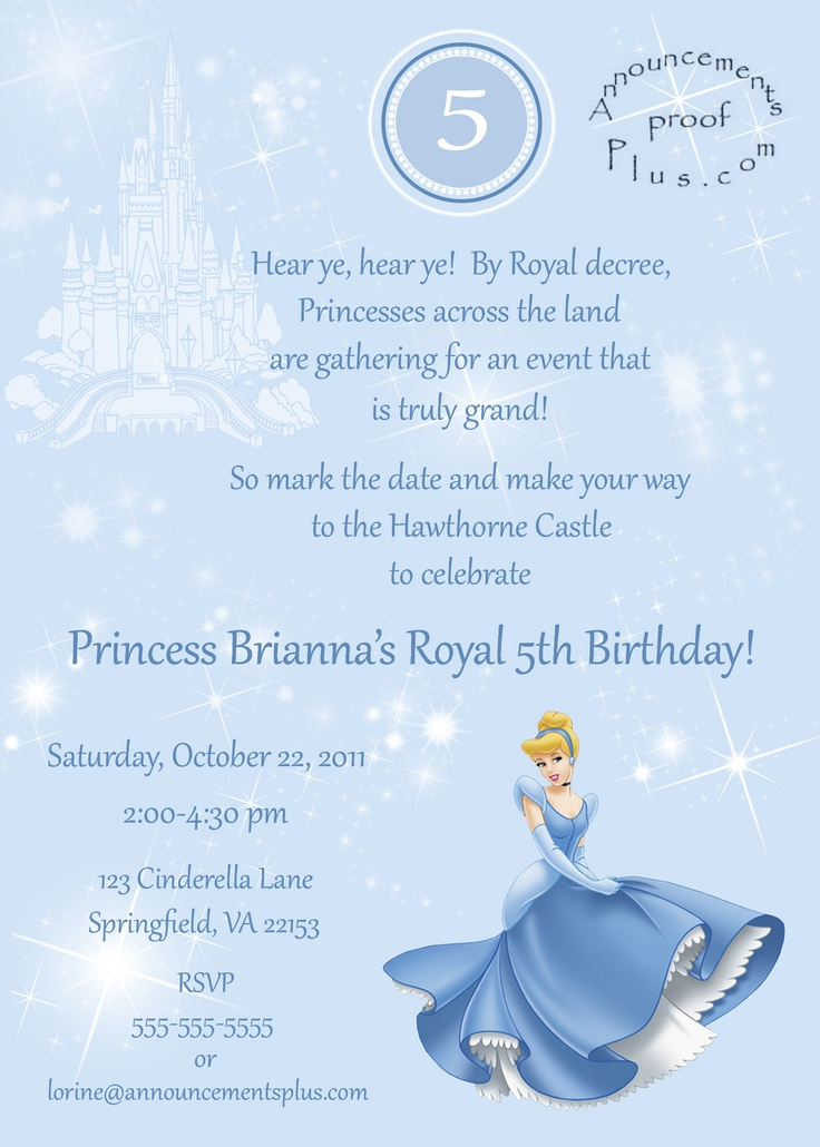 Best 25 Cinderella invitations ideas on Pinterest Cinderella