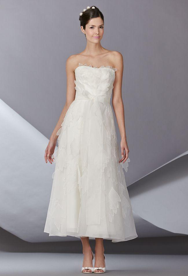 14 Best Tea Length Wedding Gowns Images On Pinterest