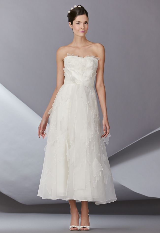 Carolina Herrera Fall 2014 Wedding Dresses Carolina Herrera Spring