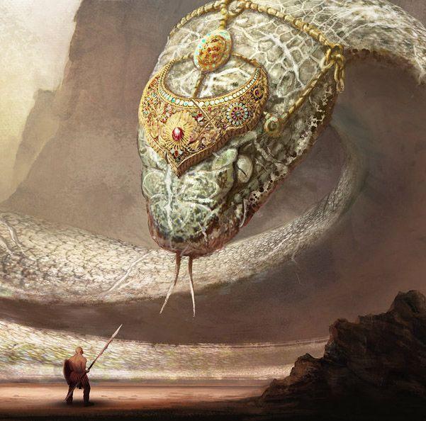 Картинки змей фантастика